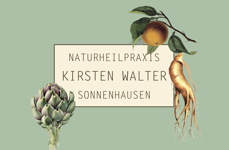Logo der Naturheilpraxis Kirsten Walter